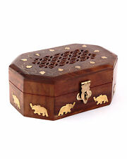 Beautiful Wooden Designer Handcarved Multipurpose Jewellery box Gift Item