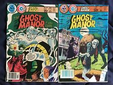 Ghost Manor #'s 40 and 56 Charlton Comics Group