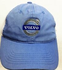 VOLVO TRUCKER HAT CAP LT BLUE TRI-STATE TRUCK MESH LOGO SPELL-OUT ONE-SIZE NWOT
