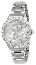 Invicta Women's Watch Wildflower Silver Tone Dial Crystal Quartz Bracelet 24536