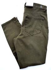 MAC Jeans SENSATION SKINNY Bi - Stretch oliv grün Röhre Gr.36 L 27 NEU dream