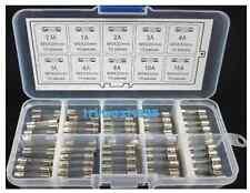 5x20mm Quick Fast Blow Glass Assorted Fuse Amp-100pcs- 0.5A1A2A3A4A5A6A8A10A15A