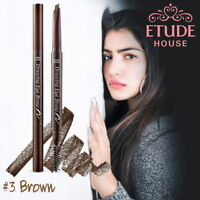 [ETUDE HOUSE KOREA] DRAWING EYE BROW BRUSH & PENCIL *NEW 0.25g* Brown COLOR BEST