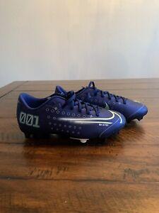 Nike Mercurial Vapor 13 Academy MDS MG Soccer Cleats Kids Size 5Y CJ0980-401