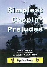 Simplest Chopin Preludes Piano Solo