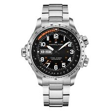Hamilton Khaki Aviation X-Wind Day Date Auto Mens Automatic Watch H77755133