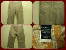Arcteryx Women Khaki/Tan Capri Pants size 6 (32 x 21) Cotton Poly Nylon