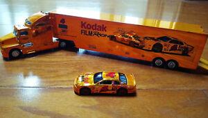 Racing Champions: Kodak Max Semi Truck Hauler & #4 Bobby Hamilton Car, 1:64