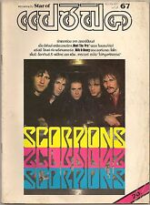1984 Scorpions Kiss Sting David Bowie Michael Jackson Magazine Book Rare!