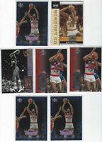 (7)ct ELVIN HAYES NBA BASKETBALL CARD LOT! WASHINGTON BULLETS!
