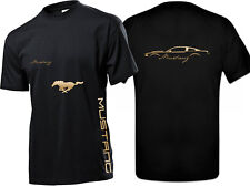 Ford Mustang T-Shirt mit Front und Rückendruck