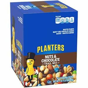 Planters Nuts & Chocolate Trail Mix (1.7 oz Packets, Pack of 18)