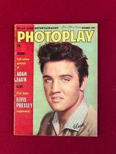 "1962, Elvis Presley, ""Photoplay"" Magazine (No Label) Vintage / Scarce"