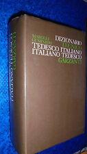DIZIONARIO TECNICO TEDESCO/ITALIANO ITALIANO/TEDESCO.MAROLLI/GUARNIERI.GARZANTI