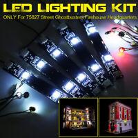 ONLY LED Light Lighting Kit For LEGO 75827 Street Ghostbusters Firehouse  z
