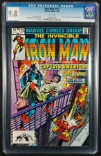 Iron Man #172 CGC 9.8! White Pages! (Marvel Comics 1983)