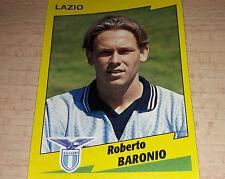 FIGURINA CALCIATORI PANINI 1996/97 LAZIO BARONIO ALBUM 1997