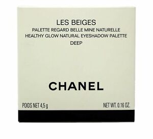 Chanel Les Beiges Healthy Glow Natural Eyeshadow Palette Deep .16 Ounces