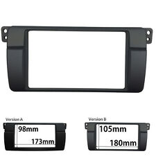 Double Din Fascia For BMW E46 1998-2005 Radio Stereo Panel Dash Trim Kit