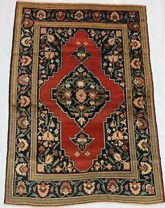 ca.1910 Old Antique Handmade Caucasian Karabag rug 6x4,1 Ft