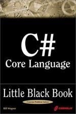 C# Core Language Little Black Book, Wagner, Bill, Good Book