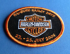 RARE HARLEY DAVIDSON HAMBURG HARLEY DAYS 2004 Patch