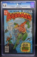 CGC 9.8 DC Comics AQUAMAN #61 comic book Batman & Kobra appearance Jim Aparo +!!