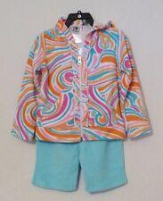 NEW Girlfriends Anita G 3-piece Set Hoodie Capri Short Terry Cloth COVER UP 4T