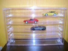 Acrylic Model Cars Wall Display Case 5 Shelves for 1:43 DeAgostini Hot wheels