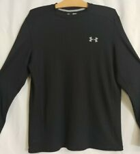 Under Armour Cold Gear Long Sleeve Fitted Shirt Size Black Medium M