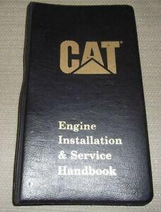 CAT CATERPILLAR ENGINE INSTALLATION & SERVICE HANDBOOK BOOK MANUAL
