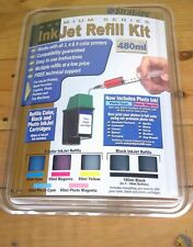 Stratitec Ink Jet Refill Kit Premium Series HP Canon Epson Compaq Lexmark Other