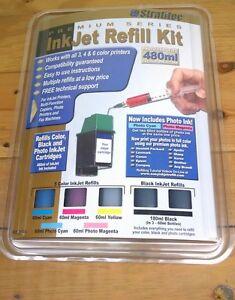 Stratitec Ink Jet Refill Kit Premium Series HP Canon Epson Compaq Lexmark Other