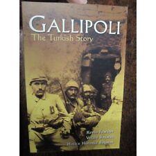 Gallipoli The Turkish Story WW1 Book Basarm Fewster new book