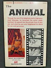 THE ANIMAL Olympic Foto-Reader ADULT sleaze Holly Nefresh 1968 film