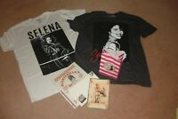 SELENA  QUINTANILLA PEREZ - 2 RARE & SOLD OUT SELENA BRAND T SHIRTS  &  MORE #6
