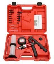 21Pcs Handheld Vacuum Pressure Pump Set Tester Brake Fluid Bleeder Bleeding Tool