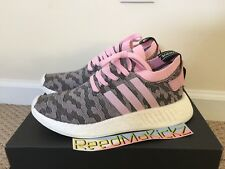 aa90c0121 adidas NMD R2 PK Womens By9521 Wonder Pink Primeknit Running Shoes Size 8