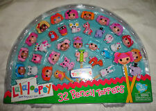 NEW Lalaloopsy Heads 32 Pencil Toppers Series 1 & 2 Exclusive Special Edition