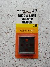 Allway Wood & Paint Scraper Blade / 22B / 2 In Package