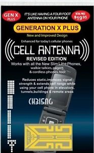 TWO Generation X Cell Phone Antenna Signal Booster - As Seen On TV - Antena x2