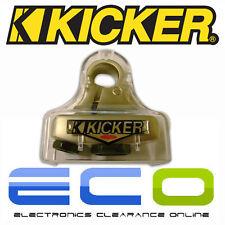 Kicker negativos Car Audio batería Poste terminal abrazadera compresión Niquelado