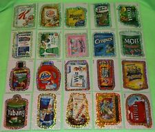 WACKY PACKAGES ANS7 WACK-O-MERCIAL FLASH FOIL SET 20/20