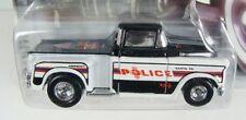 Hot Wheels '56 Flashsider Cop Rods Santa Fe, NM Police Dept w/ Real Riders
