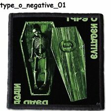 TYPE O NEGATIVE  Patch  4x4 inche (10x10 cm) new