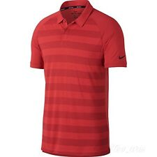 Nike Golf Tiger Woods Masters Tw Zonal Cool Polo Golf Red Xl