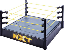 WWE NXT Superstar Ring Smackdown Mattel Breakable Ring ProTension Ropes Play Set