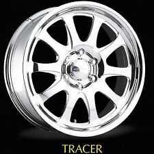 "18x8"" Centerline Forged Aluminum Wheels. Tracer Style *3 Only*, 5-5.5 BC"