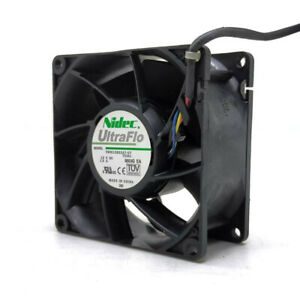 1pcs Nidec V80E12BS2A7-07 8038 8CM 12V 1.5A 4-wire Server Inverter Cooling Fan