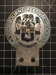 Cyndebourne Festival Society Car Badge